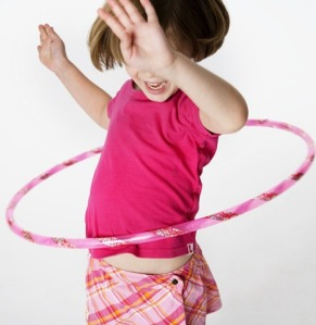 Happiness is a Hula Hoop