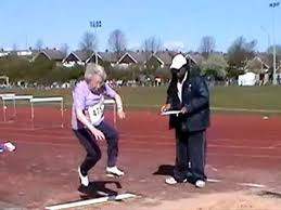 elderly athlete