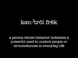 control freak definition