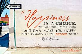 happiness quote. rick warren
