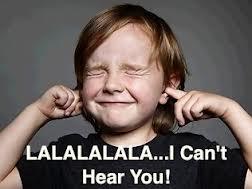 not listening child